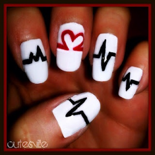 """""""my heart beats for you"""" from cutesvilledaily.blogspot.com"""