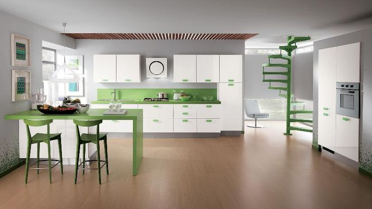 The best green kitchen decor for your home