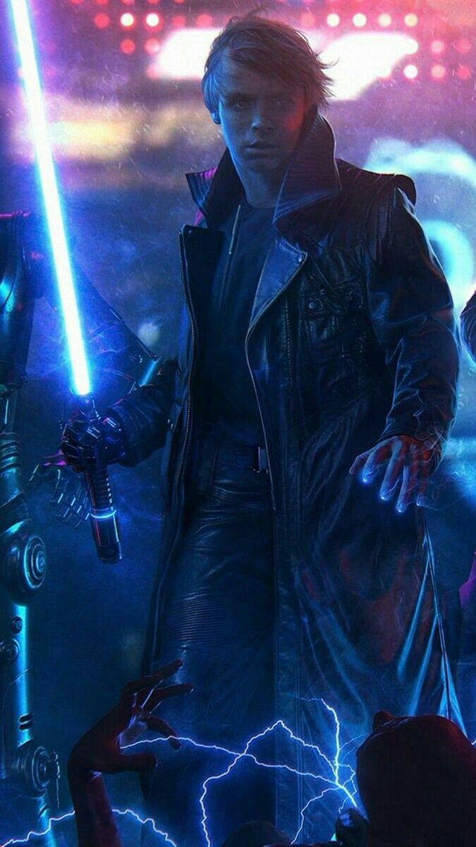 Legendary Jedi Knight Luke Skywalker Star Wars Canvas Art Star Wars Images Star Wars Jedi