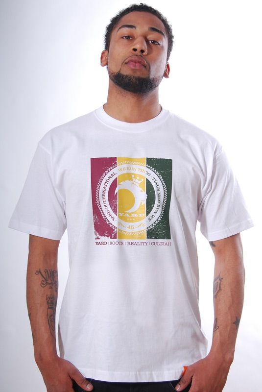 UPRISING, T-Shirt, White