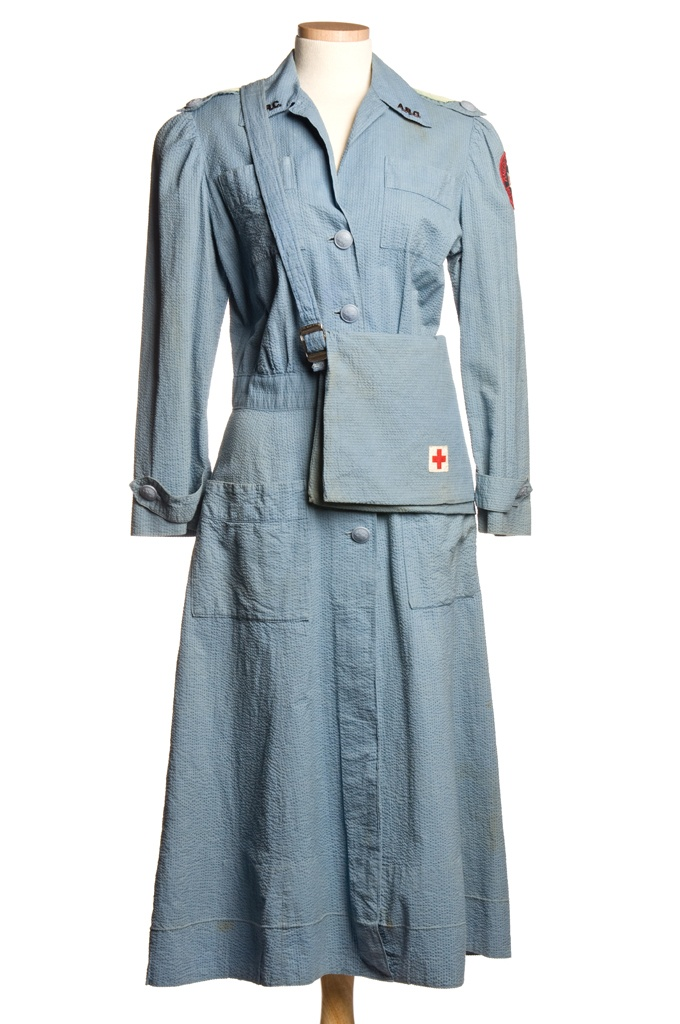 Red Cross Uniform: ca. 1939-1945.   ~Repinned Via Alexis LaMontagne
