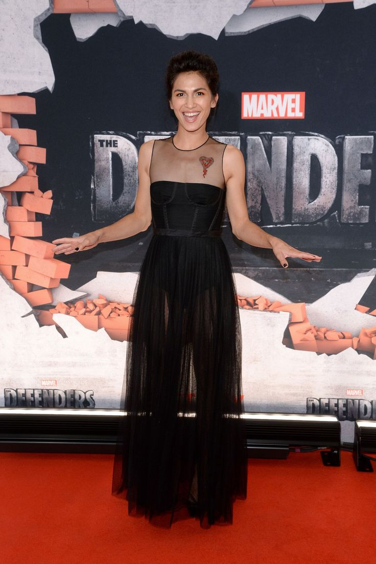 "#NewYork, #Premiere, #TV Elodie Yung – ""The Defenders"" TV Show Premiere in New York 07/31/2017 