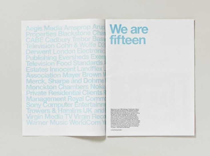 Fifteen newspaper | Designer: Cartlidge Levene | Image 3 of 8