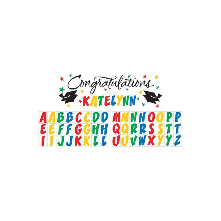 Congratulations Graduation Party Banner,
