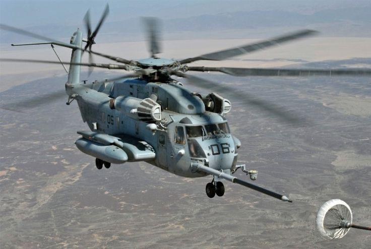 CH 53 E - Sikorsky  Super Stallion (Reabastecimento)