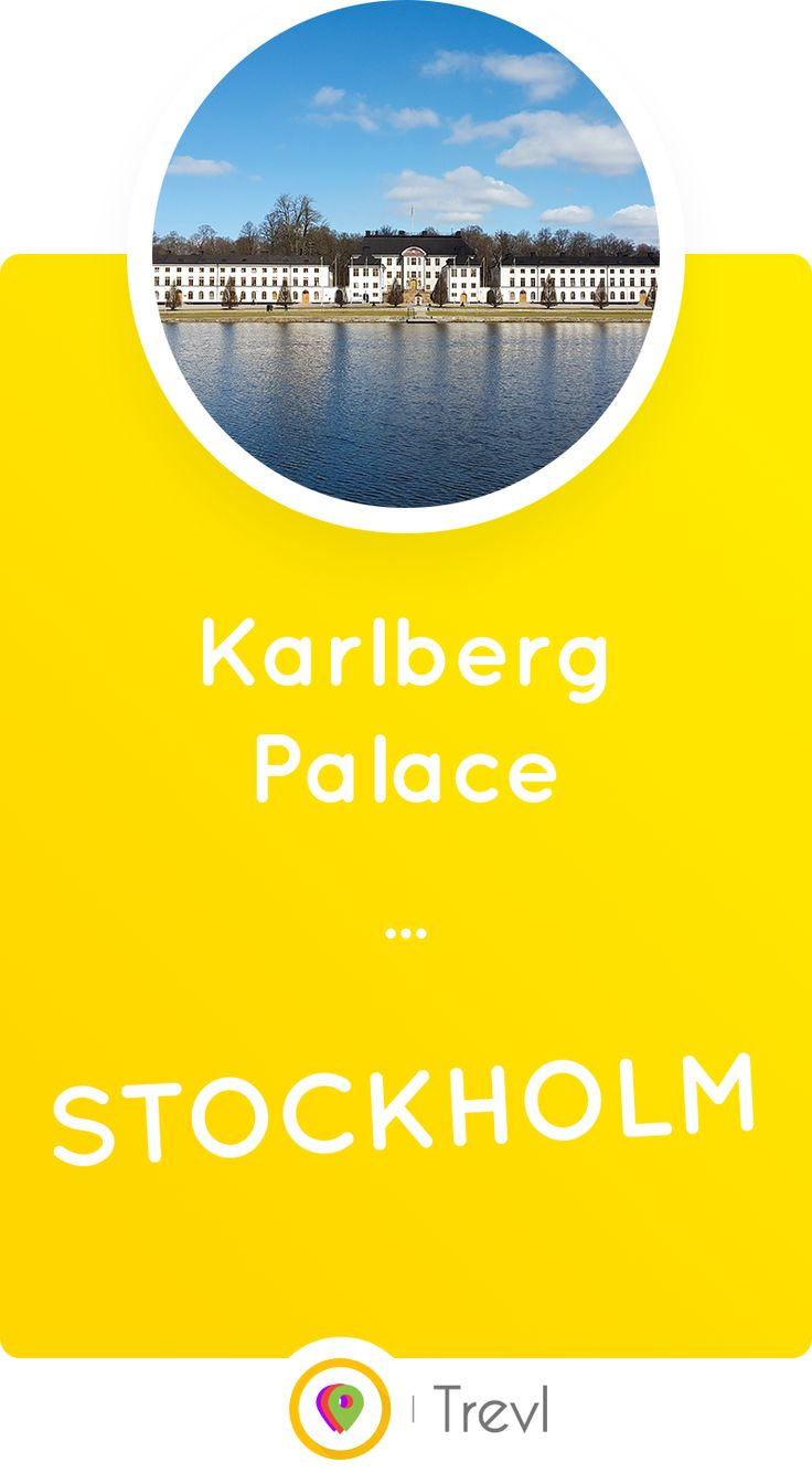 Karlberg Palace is a beautiful historic site located on the waterfront in Stockholm, Sweden. Discover its story here!