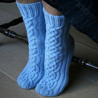 "I call these socks ""Viking Socks"" - a change in name from ""Viking Girl"" since my husband also wanted a pair ;-)"