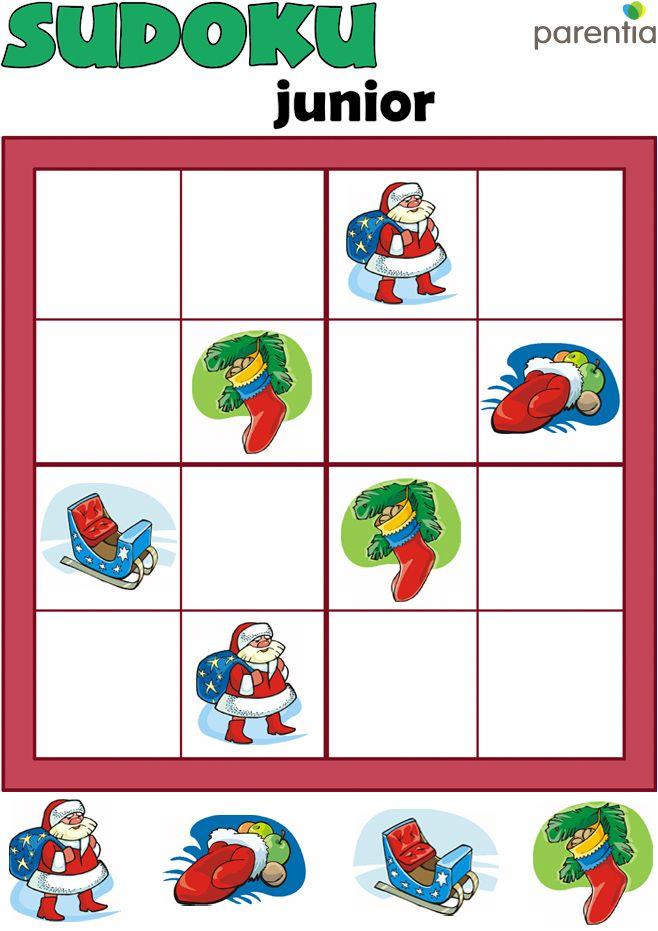 Tili-toli Mikulás Sudoku