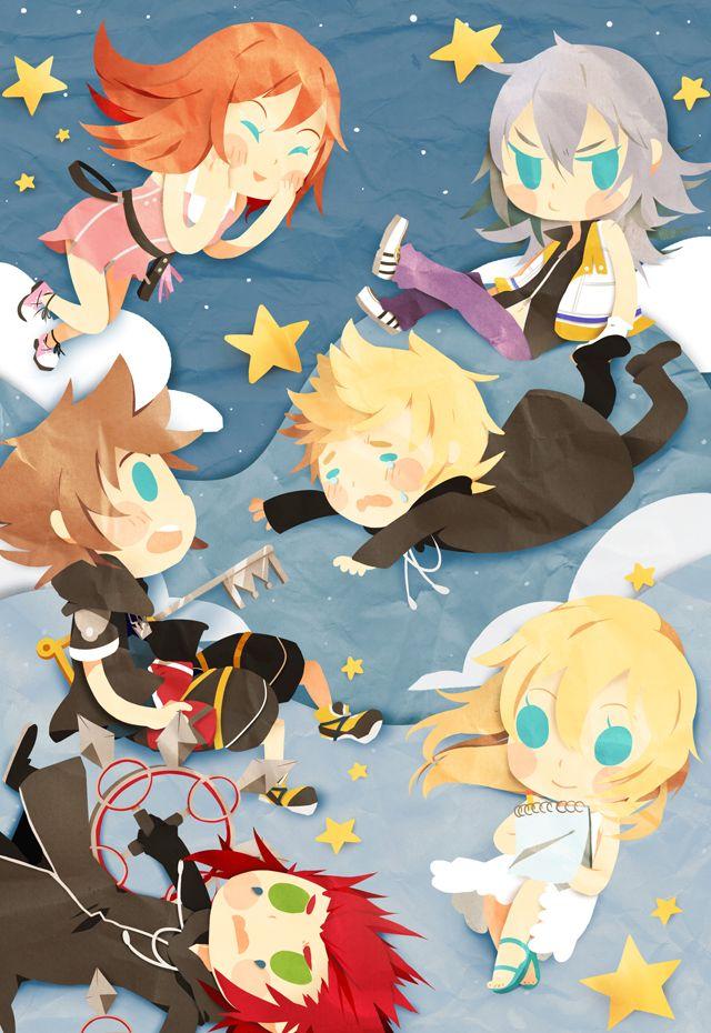 Kingdom Hearts, Cute!