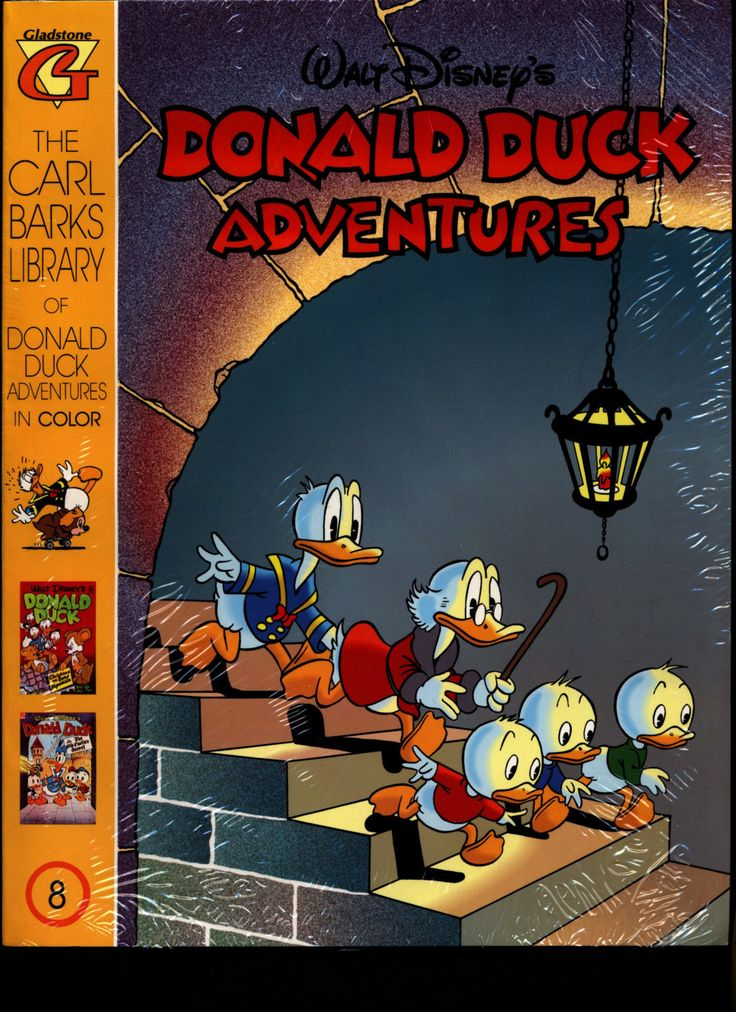 SEALED Walt Disneys Donald Duck Adventures The CARL BARKS Library Of In Color