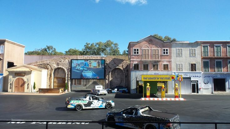 Hollywood Stunt Driver 2 show at Movie World on the Gold Coast in Queensland, Australia