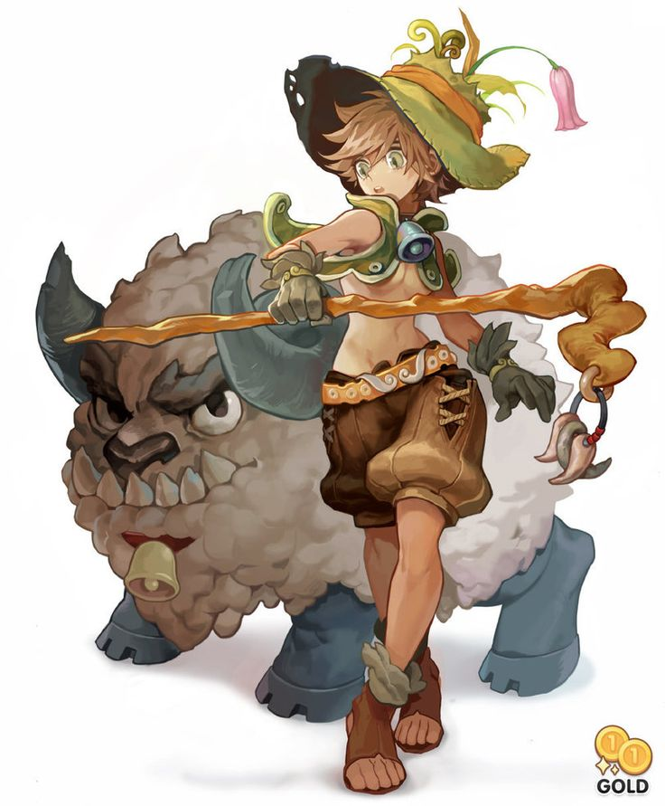 Sheep and girl by 2gold on deviantART ★ || CHARACTER DESIGN REFERENCES (www.facebook.com/CharacterDesignReferences & pinterest.com/characterdesigh) • Love Character Design? Join the Character Design Challenge (link→ www.facebook.com/groups/CharacterDesignChallenge) Share your unique vision of a theme every month, promote your art and make new friends in a community of over 20.000 artists! || ★