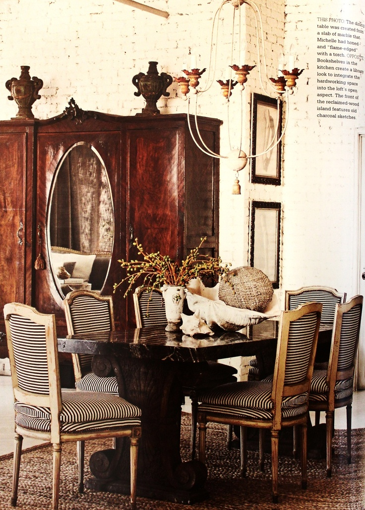 MichelleNiday Interiors, published in Country French magazine, Fall/Winter  2012