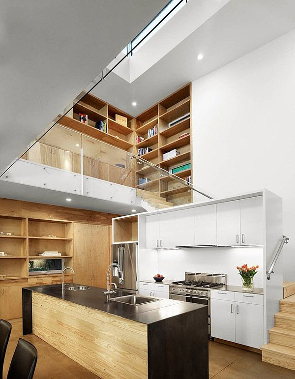 20 Mezzanine Designs in Sloped Ceiling Homes
