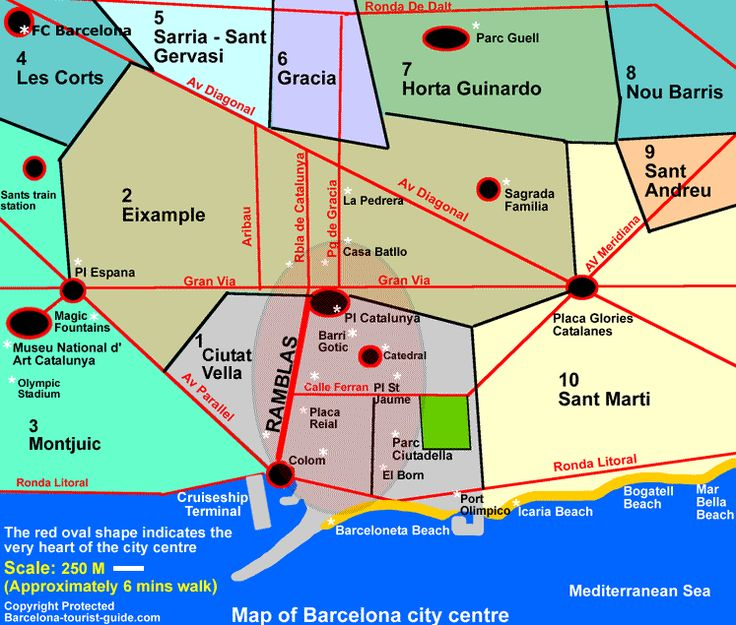 Best Barcelona City Map Ideas On Pinterest Barcelona Spain - Barcelona map eixample district