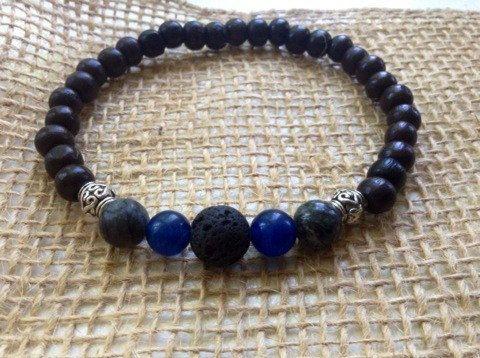 Men's Essential Oil Diffuser Bracelet|Aromatherapy Bracelet