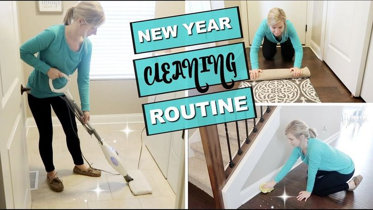 MY CLEANING ROUTINE 2018 | NEW YEAR NEW ROUTINES | MY SIMPLE MONTHLY CLE…