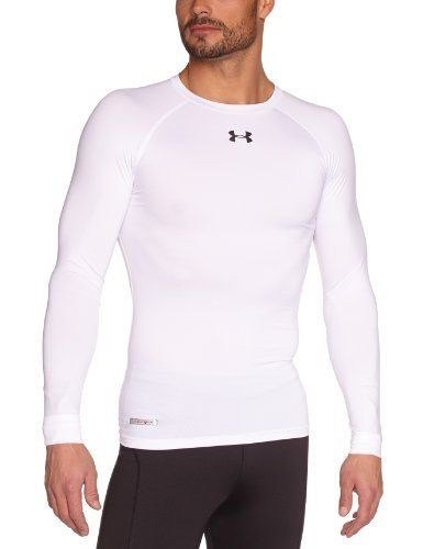 Under Armour - Camisa de compresión de manga larga blanca #camiseta #starwars #marvel #gift
