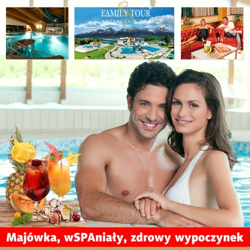 Majówka w oazie termalnych wód!  http://familytour.pl/slowacja-poprad-majowka-zdrowy-wypoczynek-gorace-zrodla-termalne-wody-baseny-lux-zdrowia-aquacity-pakiet-all-inclusive-s-781.html