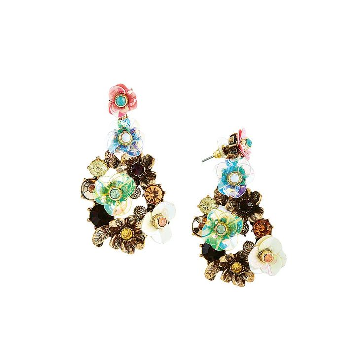 #FASHION Pick of the day: Floral Drop #Earrings from Marks & Spencer. Sooo adorable!  #WomensFashion #Style #Trend #ootd #outfitoftheday #accessories #SpringFashion #floral #trendy