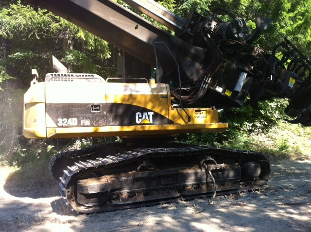 2010 Caterpillar 324DFM delimber from Crowley Equipment in