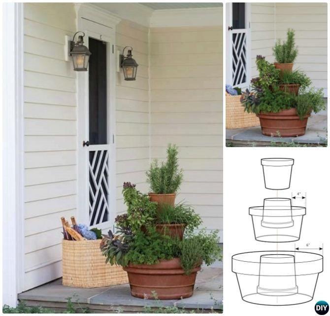 Diy Stacked Herb Garden: 2867 Besten Kräuterspirale Bilder Auf Pinterest