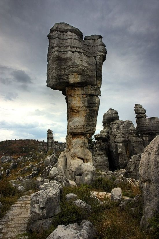 Beautiful China: Stone Forest, China