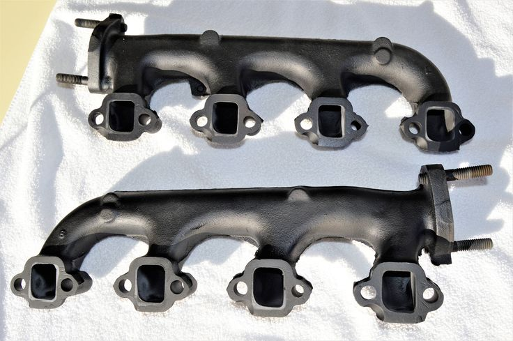 Two 1966 Mustang Exhaust Manifolds, 8 Cyl. 289, Original, Vintage Part by TiltingDaisies on Etsy