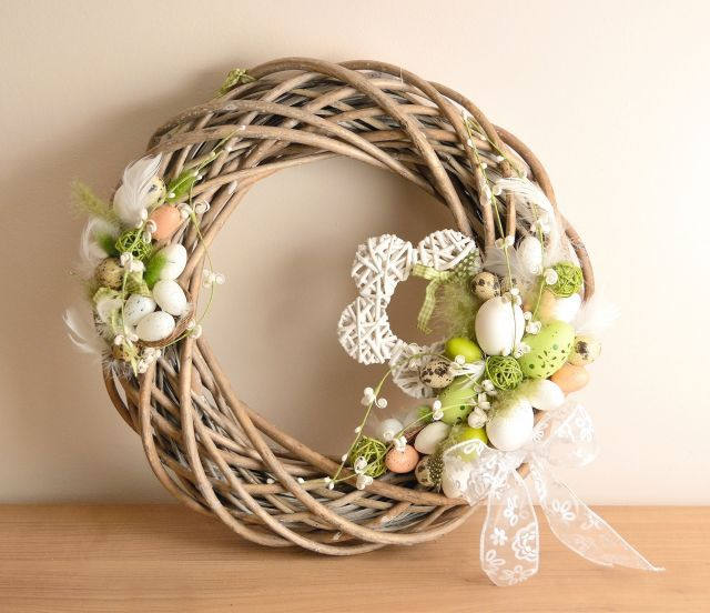 Ideas para la decoración de Pascua - Corona