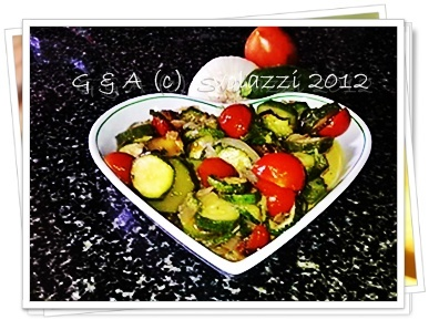 A mix of vegetables!You can also serve it cold  http://www.svolazzi.it/2012/06/tutta-verdura-vegetables.html#more