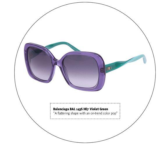 Vogue Patterns: Balenciaga Sunglasses | #theLOOK #Sunglasses