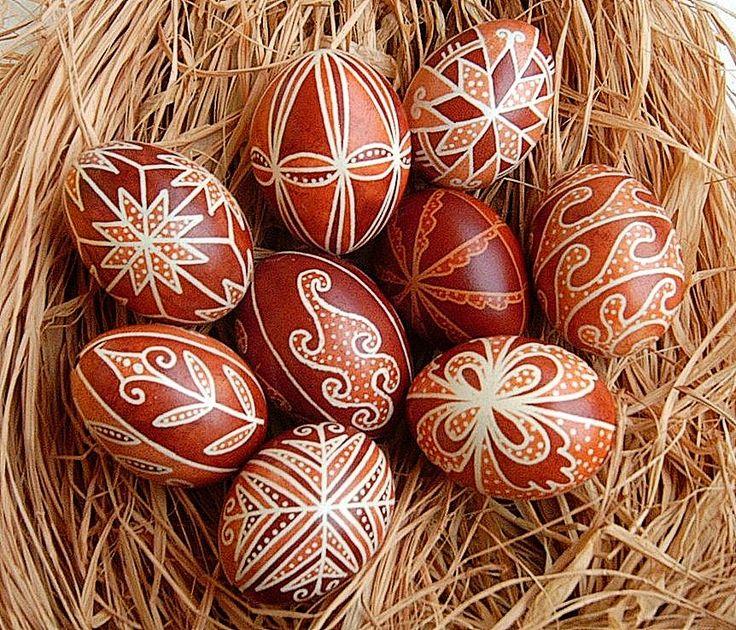 Írott tojások