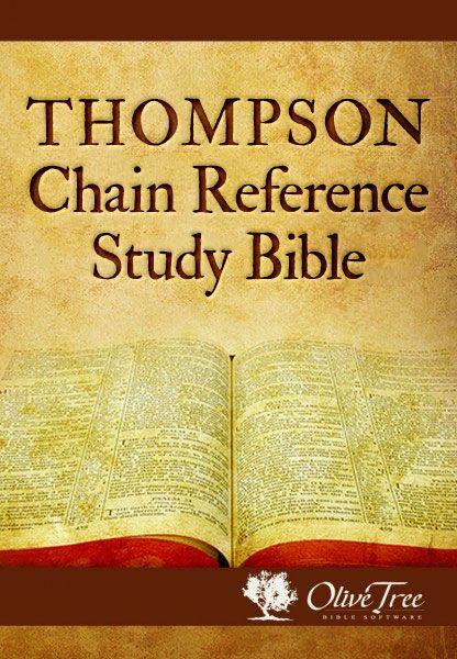 Thompson Chain Reference Study Bible, bible, bible study, gospel, bible verses