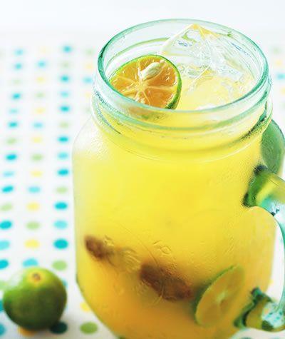 kumquat lemon juice  #recipe in Chinese