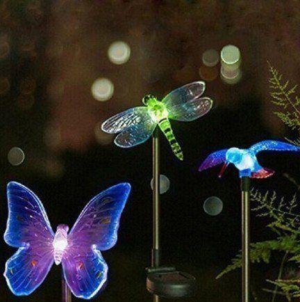 OxyLED Luminaire Exterieur Solair Décoration Extérieur- Lumière LED – Eclairage Exterieur pour Jardin: Idéal pour les décorations de jardin…