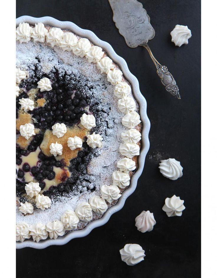 Mantelinen mustikkapiirakka // Almond & Blueberry Pie  Food & Style Sari Kalliomäki, Tyrniä ja tyrskyjä www.maku.fi
