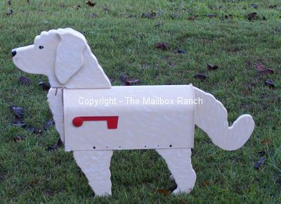 how to make a dog mailbox