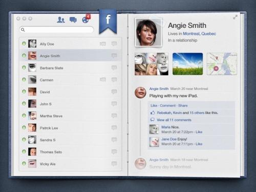 facebook as a ...boook