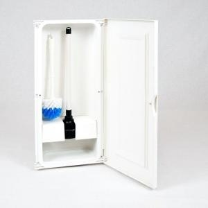 17 best images about powder room on pinterest toilets white shower and black shower curtains. Black Bedroom Furniture Sets. Home Design Ideas