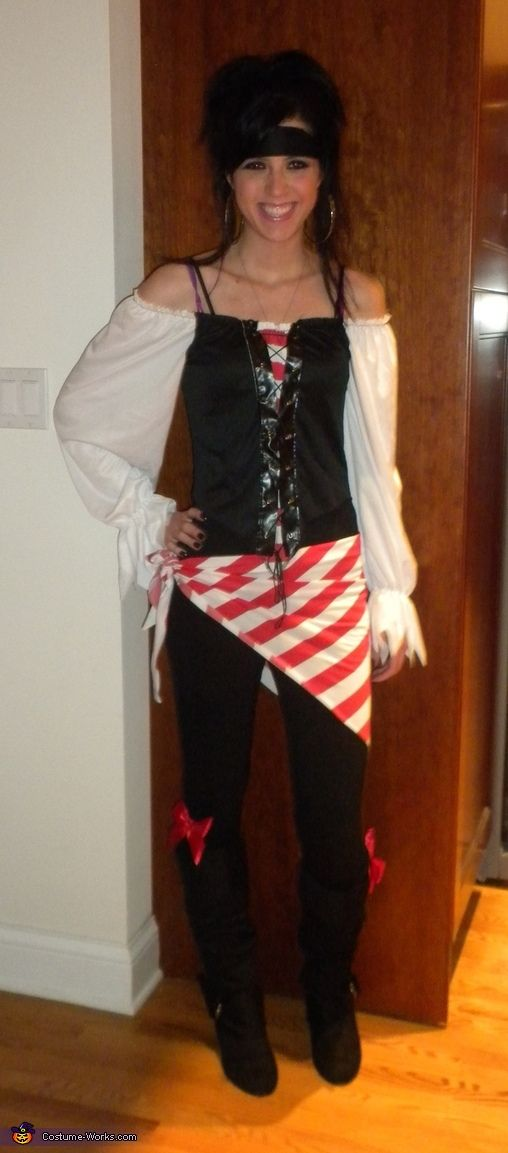 Easy pirate costume ideas for adults solutioingenieria Image collections