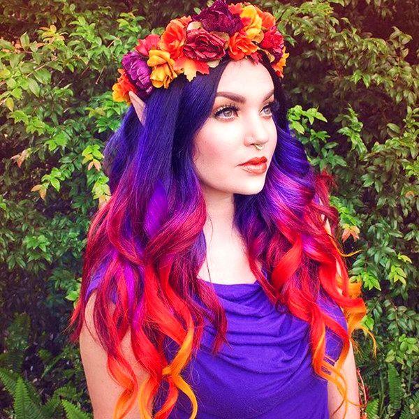 crazy hair coloring ideas