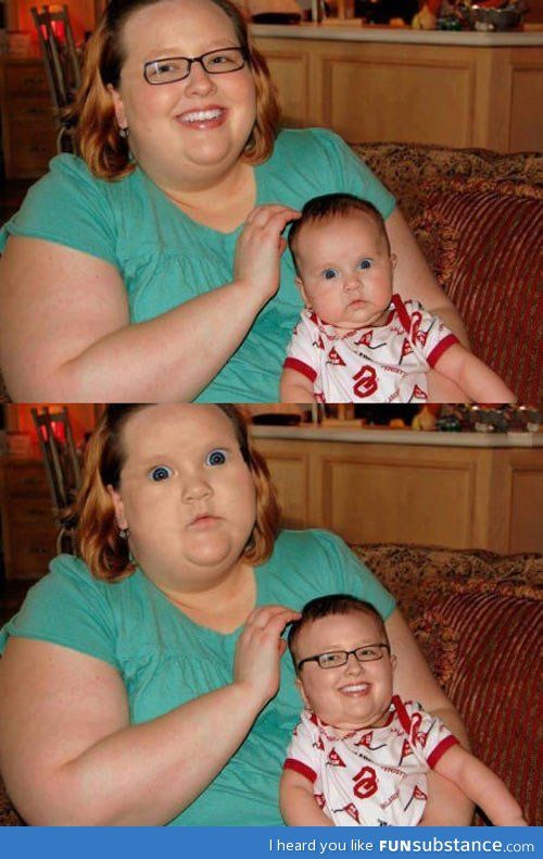When face swaps go right