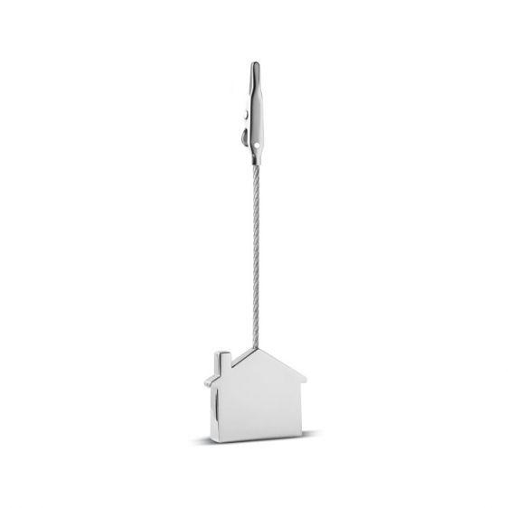 Clip portamemo in zinco con finiture lucide, €2.20 IVA Inclusa su Ibiscus gadget