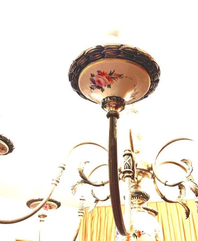 Lámpara Antigua De Porcelana De Segunda Mano Por 100 En Burgos En Wallapop Lámpara Antigua Antigua Lámpara
