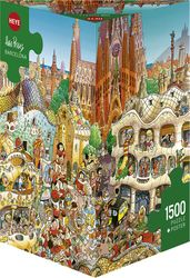 22,03€ Prades: Barcelona 1500pcs (29573) Heye