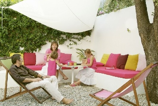 79 best terrasse id images on Pinterest Outdoor gardens, Balconies - espacement plot beton terrasse