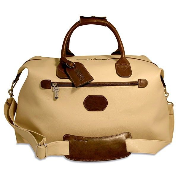 """Lugano Collection #4720, 19"""" Duffel/Cabin Bag with inside & outside zippered pocket"""