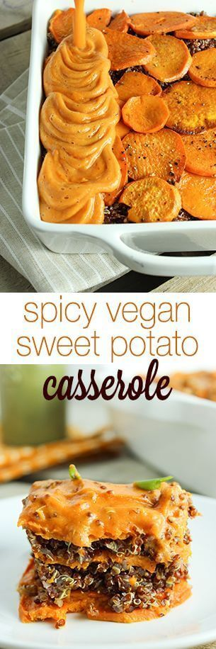 nice Spicy Vegan Sweet Potato Casserole