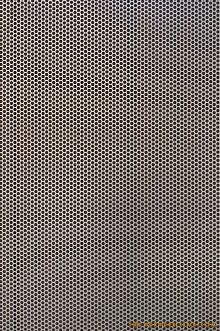 Perforated metal mesh texture