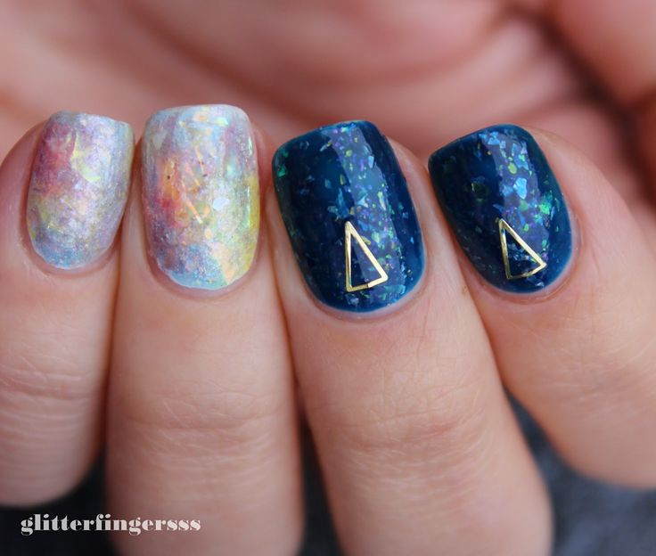 Opal nail art tutorial